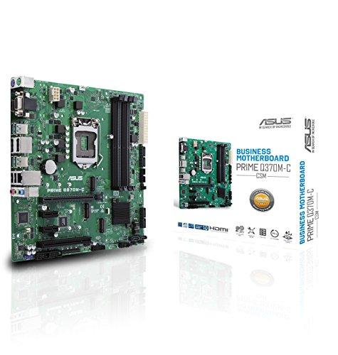 ASUS Prime Q370M-C/CSM moederbord socket 1151 (micro-ATX, Intel Q370, 4x DDR4-geheugen, M.2-interface, 24/7)