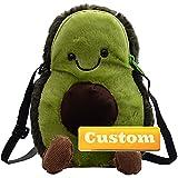 ZZMGDAM Bolso de Moda de Nombre Personalizado for niñas Bolsos de Crossbody con Cadena de Oro Verano (Color : Green, Size : One Size)