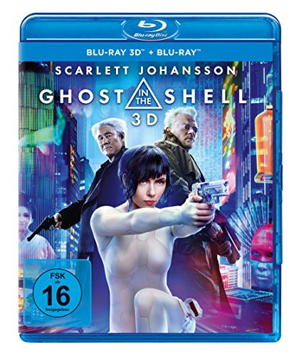 Ghost in the Shell [3D Blu-ray] (+ Blu-ray)