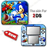 Sonic Lost World NEW SKIN VINYL STICKER DECAL COVER for Nintendo 2DS