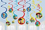 Amscan'Toy Story 4' Multicolor Spiral Party Decorations, 12 Ct.