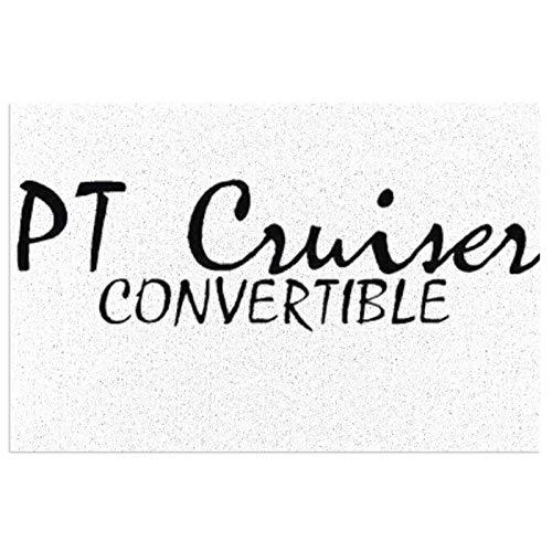 PT Cruiser Paillasson antidérapant pour intérieur et extérieur Lavable 60 x 40 cm