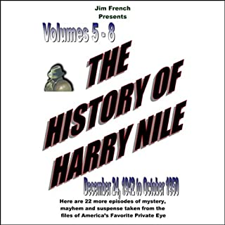 The History of Harry Nile, Box Set 2, Vol. 5-8, December 24, 1942, to October 1950 cover art