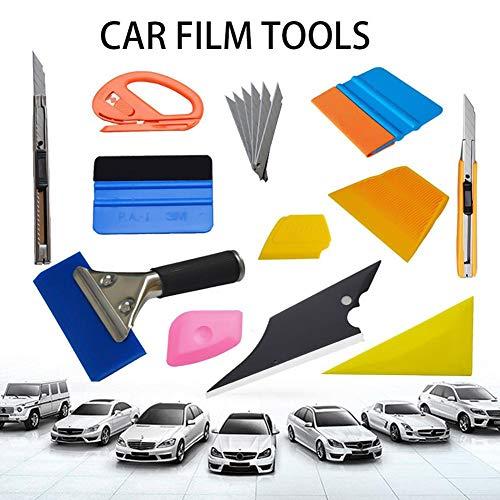 lembrd auto glas auto raam vinyl wrap film installatie gereedschap van Squeegees magnetische soft tape maatregel, scheermes schraper, cutter