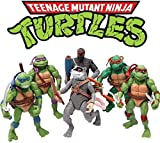 Ninja Turtles Set of 6 PCS ,Teenage Ninja Turtles Action Figure ,Ninja Turtles Action Figures Mutant Teenage Set TMNT Action Figures