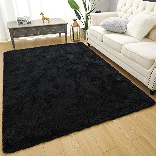 Amearea Premium Soft Fluffy Rug Modern Shag Carpet, High Pile, Solid Color Plush Rugs for Bedroom Dorm Room Teen...
