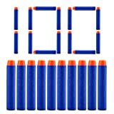 QUN FENG Rellene los Dardos de Bala 100PCS Foam Tip Premium Bullets Paquete de munición para Nerf...