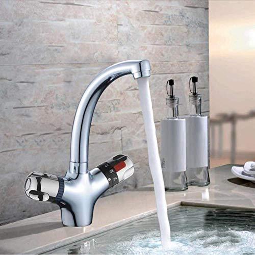 Hochwertige Thermostat-Waschtischarmatur, The Kitchen Faucet, der Waschtischarmatur, Wasserhahn mit konstanter Temperatur