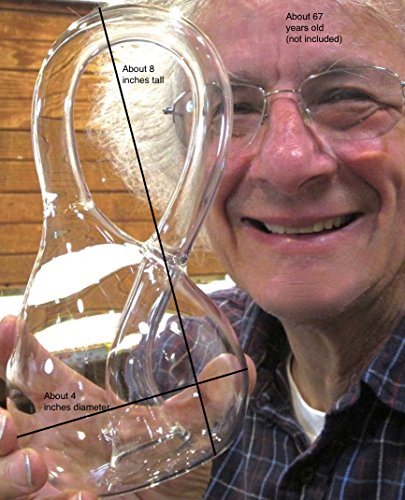 Handmade Glass Klein Bottle |