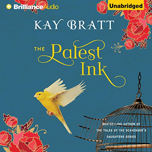 The Palest Ink audiobook cover art