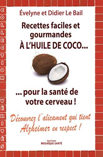 huile de coco recette