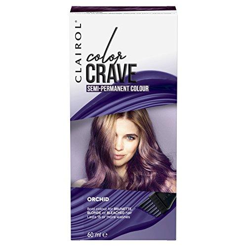 Clairol Colour Crave Semi Permanent Hair Dye Orchid 60ml