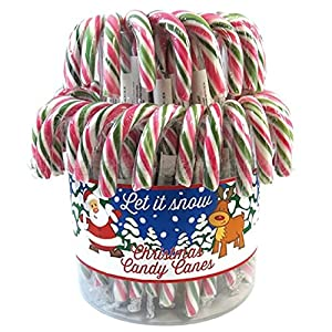60 green red christmas x'mas candy canes (20g each, 14cm length) 60 Green RED Christmas X'Mas Candy Canes (20g Each, 14cm Length) 51InFPbnz9L