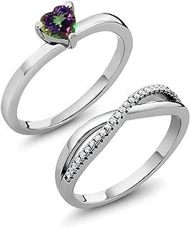 Best mystic topaz wedding ring Reviews