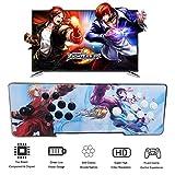 MEANS Caja de Pandora 4S Arcade Juego Consola 800 en 1 TV Videojuegos Kit con 2 joystick Piezas de fuente de...