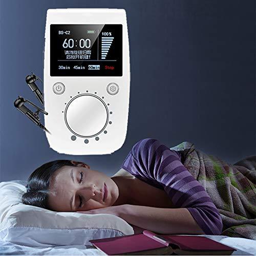 Dispositivo para aliviar el insomnio, tratamiento de ayuda para dormir, ayuda a dormir mejor, analgésico para el dolor de cabeza, depresión y ansiedad, ayuda para dormir, portátil, uso doméstico