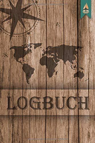 Logbuch: maritimes Seetagebuch für Hobby-Schiffsführer | Segler | Yacht | Motorboot | Sportboot | Segelyachten | Nautisches Meilenlogbuch