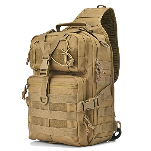 Why Choose Gowara Gear Tactical Sling Bag Pack Military Rover Shoulder Sling Backpack EDC Molle Assa...