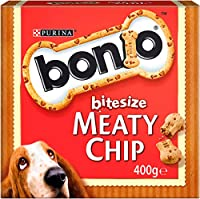 Biscuit with tasty meaty pieces Low in fat Helps support healthy teeth and gums Complementary pet food for adult dogs