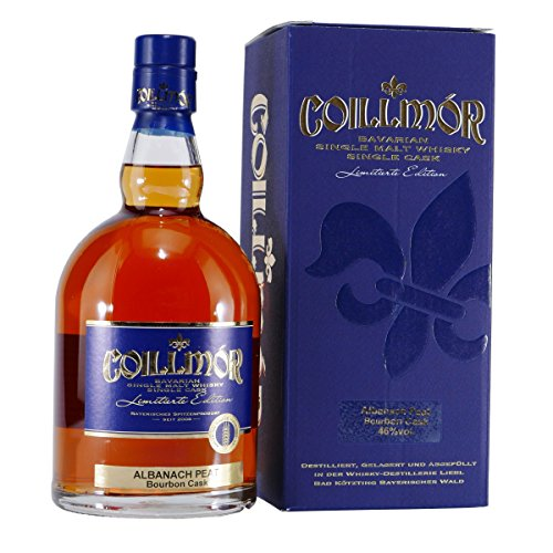 Liebl Coillmór Single Malt Whisky Albanach Peat Bourbon