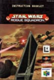 Star Wars Rogue Squadron N64 Instruction Booklet (Nintendo 64 Manual Only) (Nintendo 64 Manual)