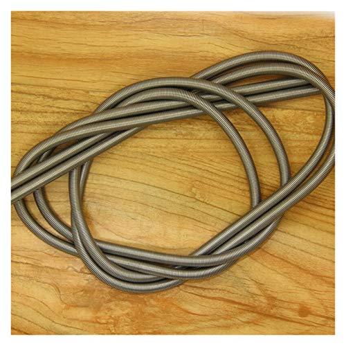 TGRTY Coil Compression Springs 2PCS,Long Flexible Compression Extension Springs,0.8mm Wire Diameter(5-14) mm Out Diameter1000mm Springs Compression Kit (Color : 0.8x7x1000mm)