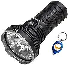 Acebeam X45 CREE XHP70.2 LED Flashlight -18,000 Lumens -Beam Distance of 583 meters + 4x 18650 batteries + Andrew & Amanda Keychain Light