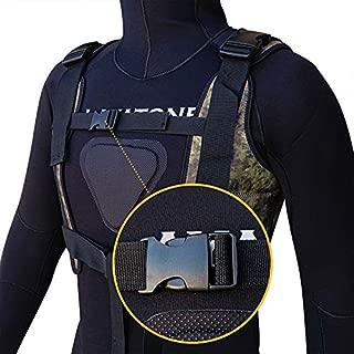 Layatone Weight Vest Men 2mm/3mm Neoprene Diving Vest Fitness Running Training Vest Gym Walking Weights Vest with Adjustable Straps Sport Weighted Vest Women