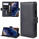 GHFPCASE para For Nokia PureView 9 Doble Hebilla de Caballo Loco de Negocios del teléfono móvil de...