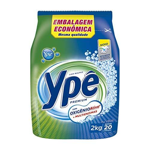 Lava Roupas Pó Ype Premium Sachê 2Kg