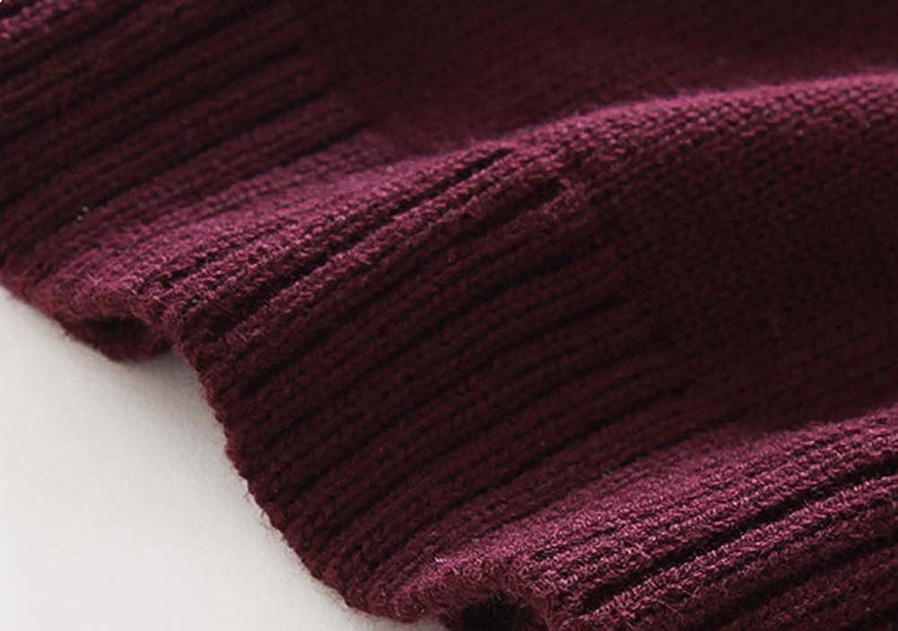 YAGATA Boys V-Neck Sweater Vest Cotton Soft V-Neck Knit Sweater Vest