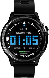 SLEEKFIT® Smartwatch Full Touch Screen Capabilities, Bluetooth Connectivity, Music control & weather function, Fitness Tra...