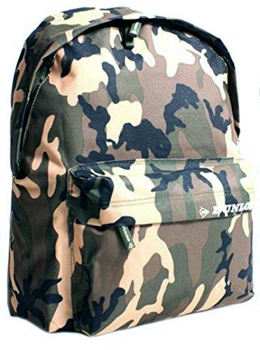 Dunlop Rucksack Rucksack–Grün Army Camouflage Tasche