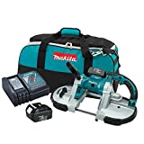 Makita XBP02 18V LXT Lithium-Ion Cordless Portable Band Saw Kit (3.0Ah) (Discontinued by Manufacturer)