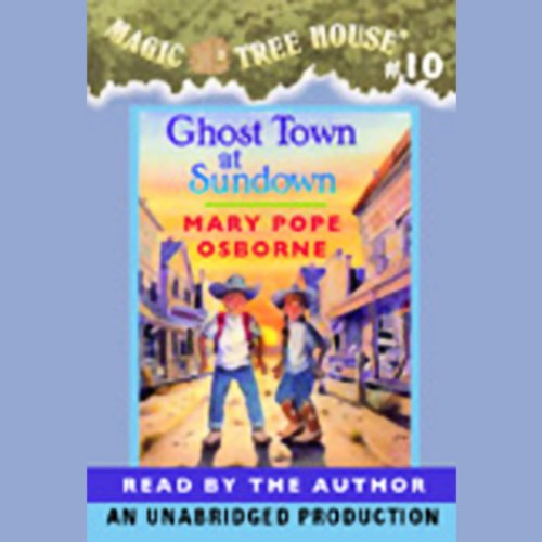 Ghost Town at Sundown audiobook cover art