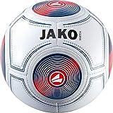 JAKO Herren Trainingsball Match, weiß/Marine/Flame, 5