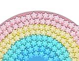 Seanrui Ocean Pit Balls 80 pcs Baby Toys Balls,4 Color BPA Free Crush Proof Soft Plastic Ball,Toys Gift Pool Tent Playground Swim Playballs with Storage Bag