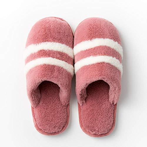 Damen Herren Winter Memory Foam Pantoffeln,Warme rutschfeste Plattformpantoffeln,...
