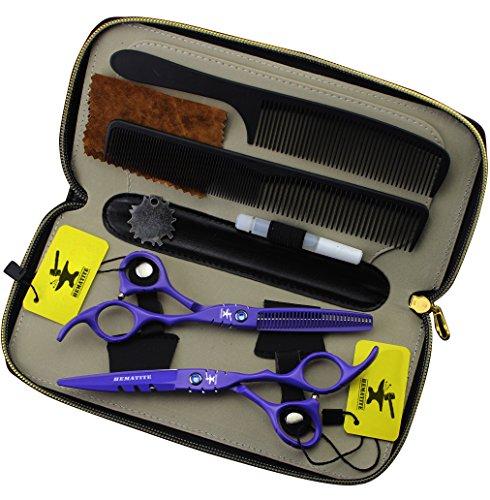 Juego de tijeras japonesas de peluquería de 14 cm para peluquería profesional.