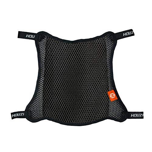 H HILABEE Funda Protectora Transpirable para Asiento de Motocicleta 3D Universal