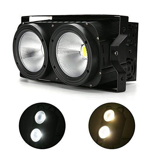Yunrux - Foco led COB para iluminación de escenarios, 200 W, efecto...