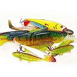 Jackson XL - Set de pesca profesional (7 hasta 15 cm, 12 unidades)