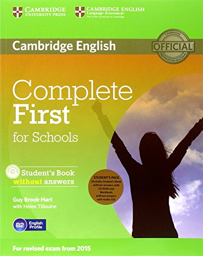 Complete FCE for school pack. Student's book without answers. With CD-ROM. Workbook without answers. With CD [Lingua inglese]