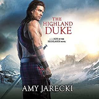 The Highland Duke audiobook cover art