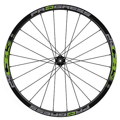 Pegatinas Llantas Bicicleta Progress CB3 29 Bicolor WH55 Verde 063