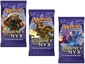 3 (Three) Packs of Magic: the Gathering - MTG: Journey into Nyx Booster Pack Lot (3 Packs)