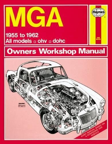 MGA (55 - 62) Haynes Repair Manual