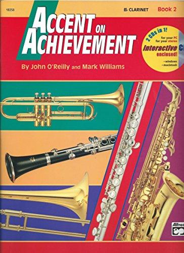 Accent on Achievement, Book 2 - Bb Clarinet - Bk+CD