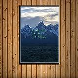 zpbzambm Rahmenlose Leinwandbilder 50X70Cm,Kanye West Das