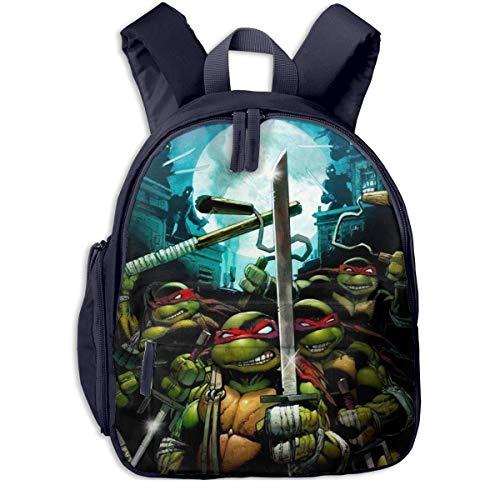 JKSA Teenage Cute Mutant Ninja Bags Turtles Backpack School Bags for Boys Girls,Navy,One Size
